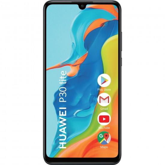 Telefon mobil Huawei P30 Lite, Dual SIM, 128GB, 4G, Midnight Black
